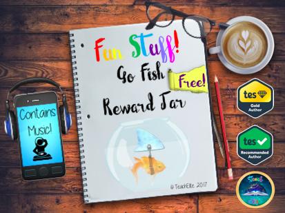 GOLD Fish Reward Jar