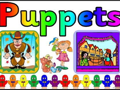 Powerpoint presentation for year 2 Puppets unit