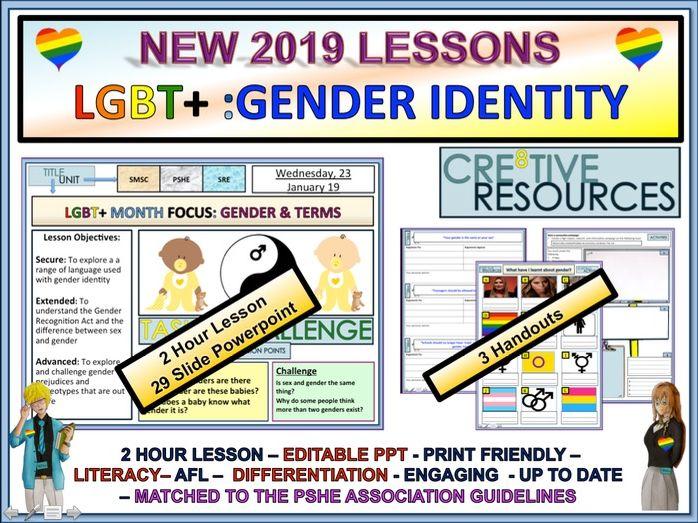 LGBT+ Month : Gender Identity Trans.