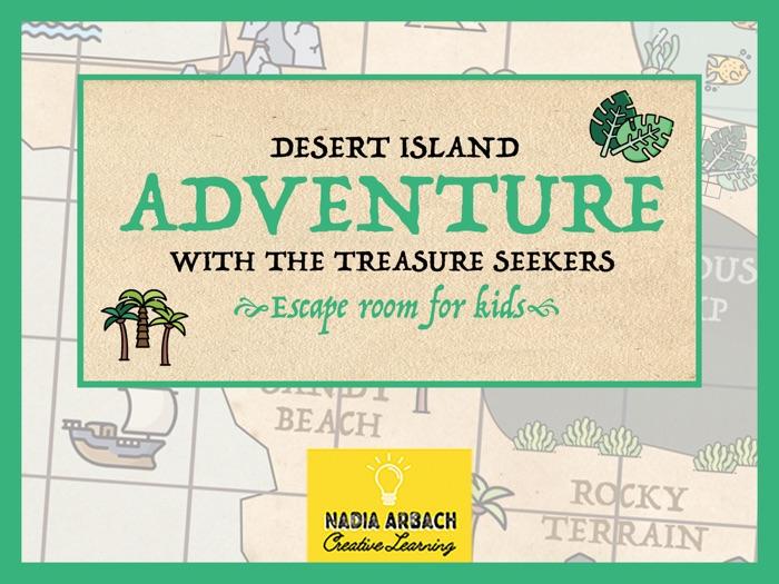 Desert Island Adventure with the Treasure Seekers - Escape Room Activity