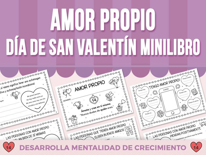 Amor Propio - Día de San Valentín - Minilibro