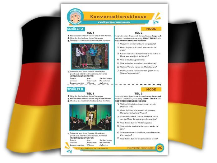 Mode - German Speaking Activity