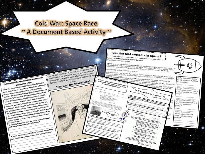 U.S. History: Space Race (Cold War) Mini-DBQ Packet