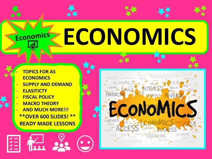 Year 12 Economics