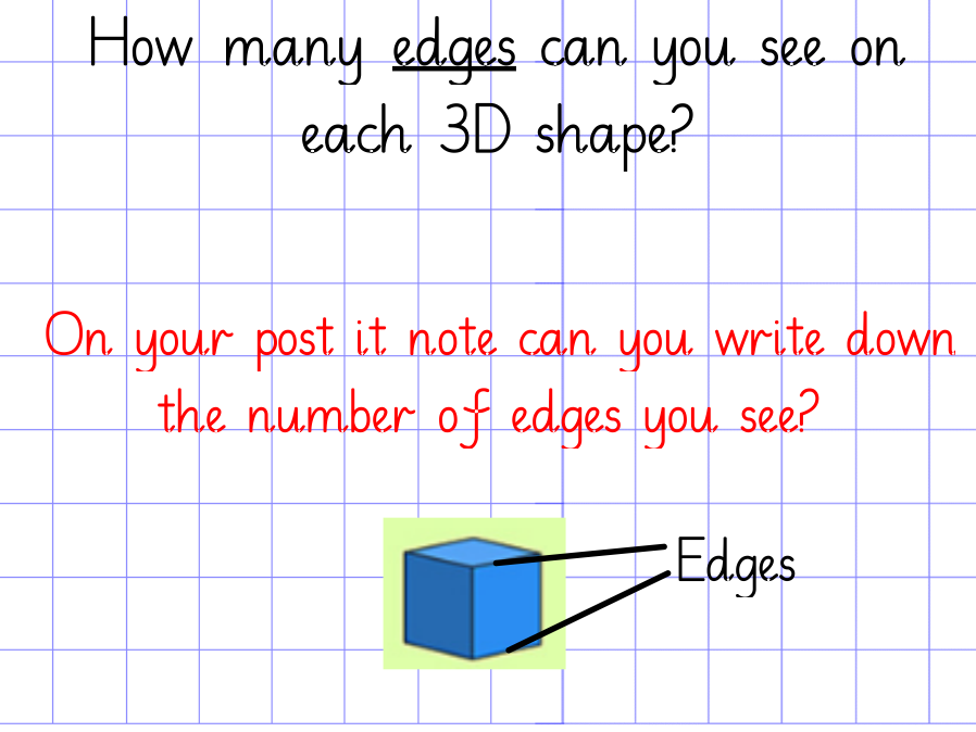Year 2 3D Shape Lesson with Flipchart and Resources