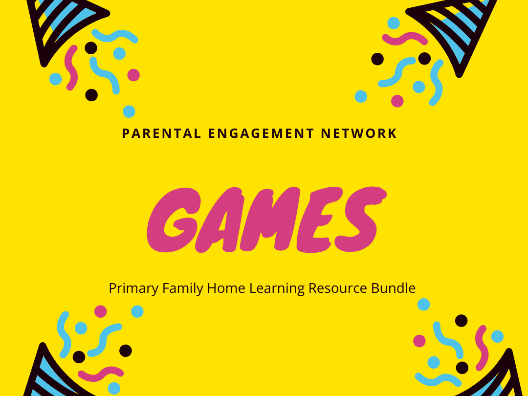 Games Primary Family Home Learning Resource Bundle