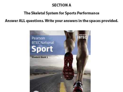 BTEC Sport Exam Paper