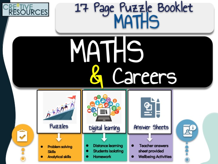 Maths Work Booklet + Careers