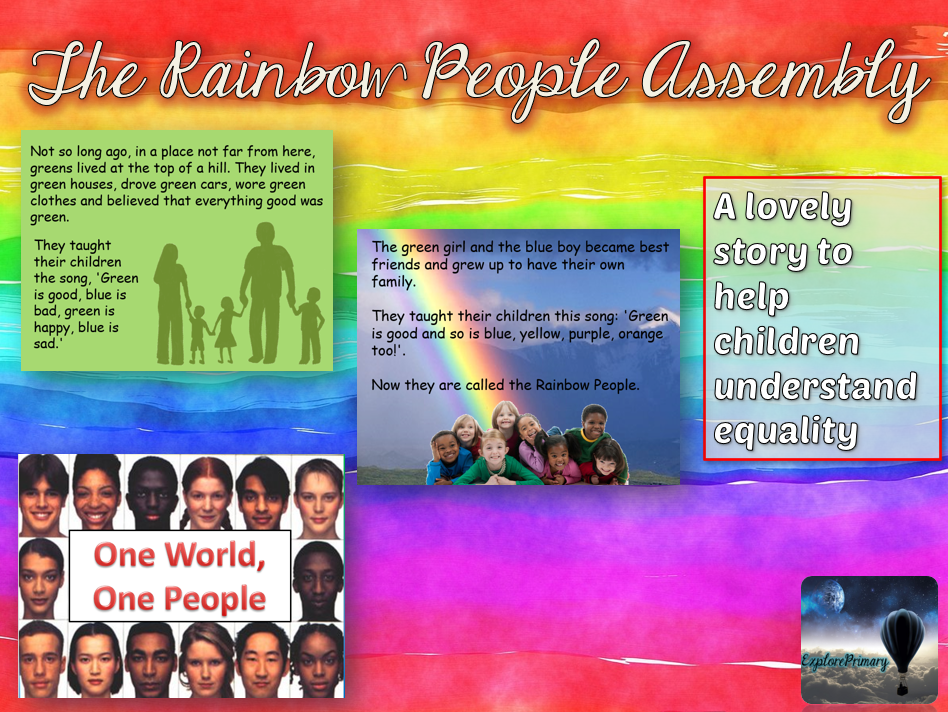 The Rainbow People Assembly - Equality
