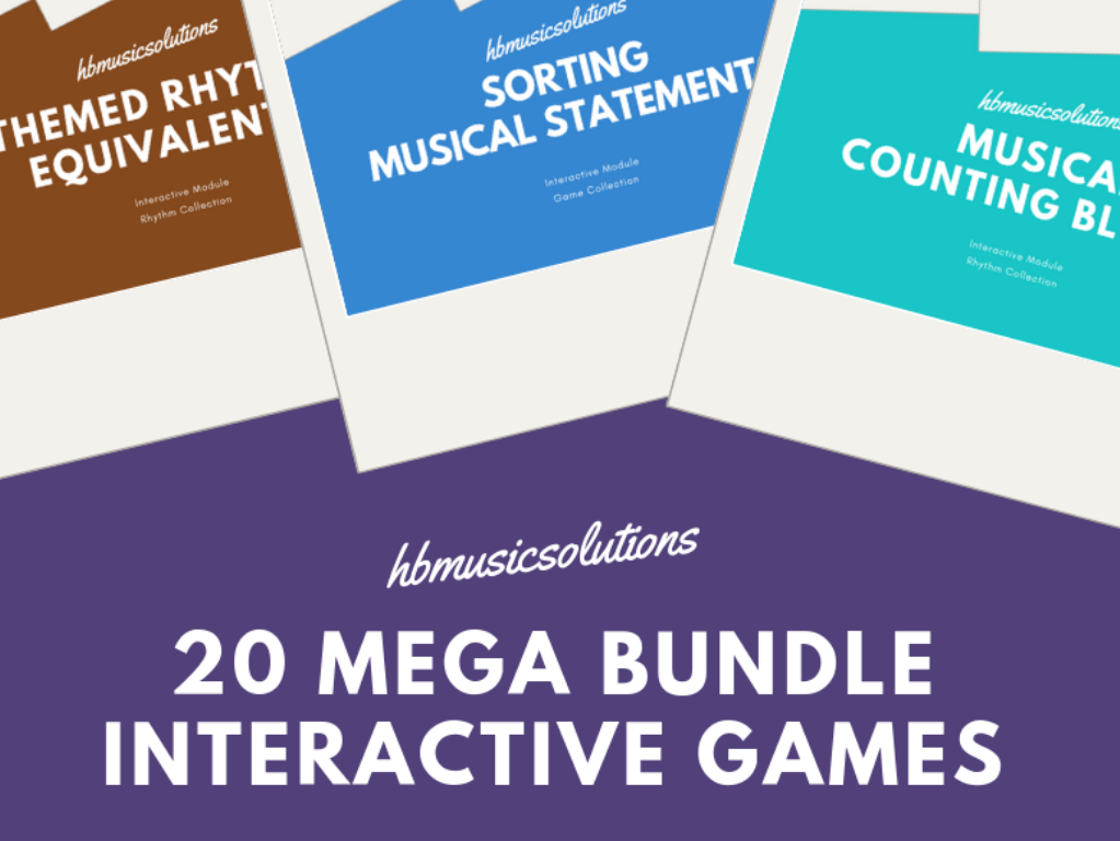 20 Mega Bundle Musical Interactive  Music Games Modules