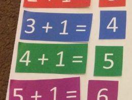 Errorless Number Sentences 1-9 plus 1 Maths SEN Down Syndrome