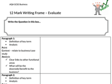 AQA GCSE Business (9-1) Revision Package