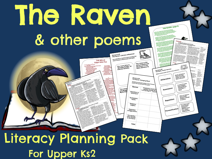 39 the raven 39 poetry planning by ks2history teaching resources tes. Black Bedroom Furniture Sets. Home Design Ideas