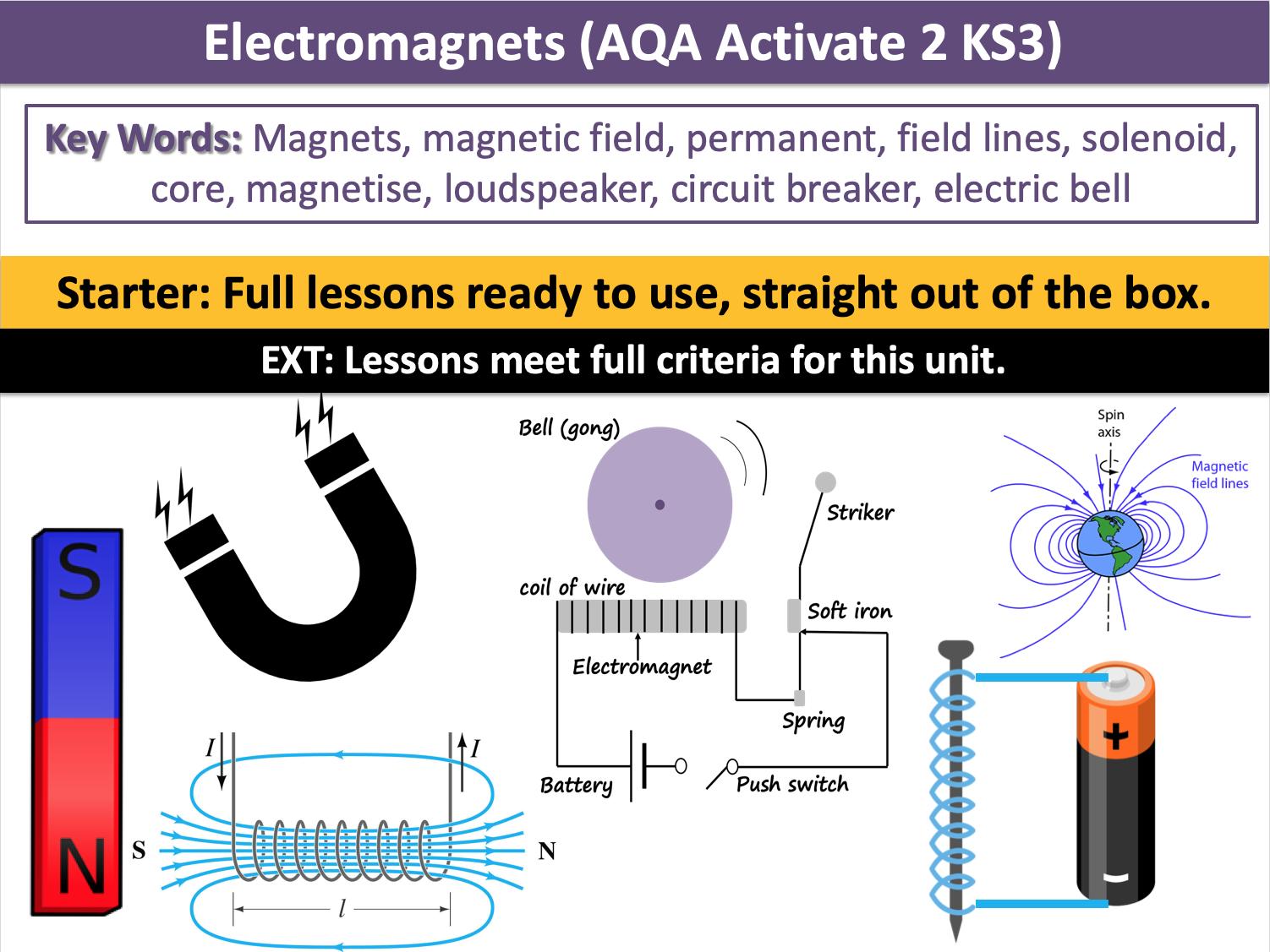 Electromagnets (AQA Activate 2 KS3)