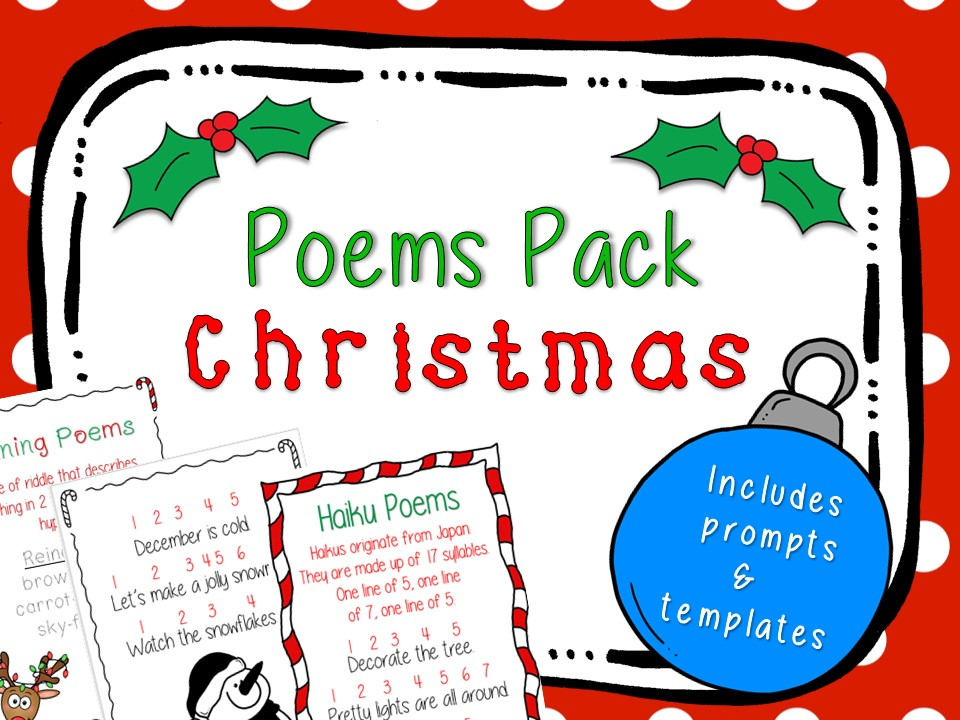 Christmas Poems Pack