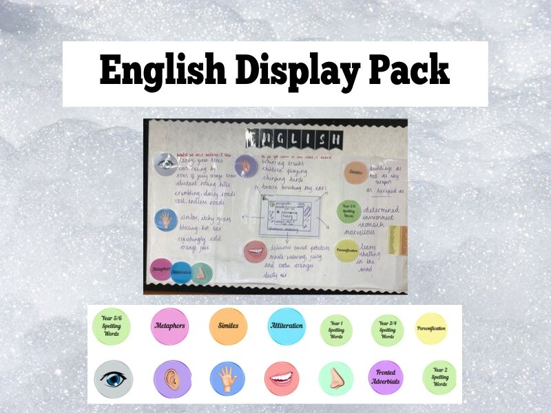 English Display Pack
