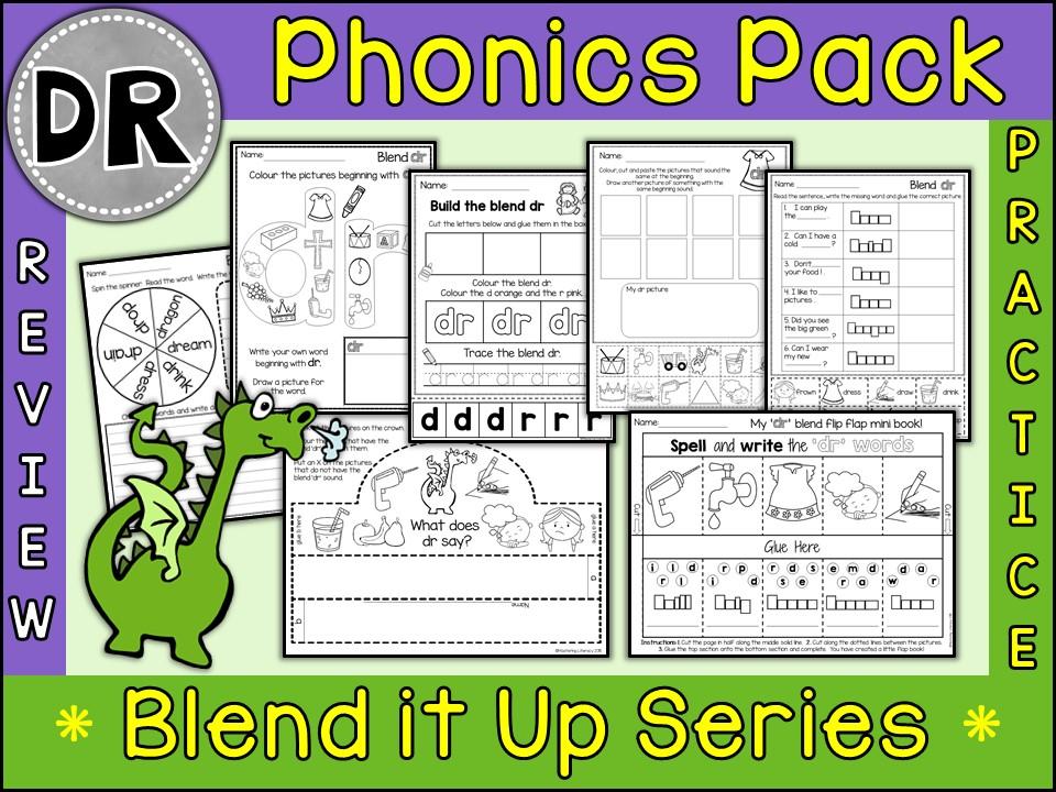 Phonics: Phonics Blend DR