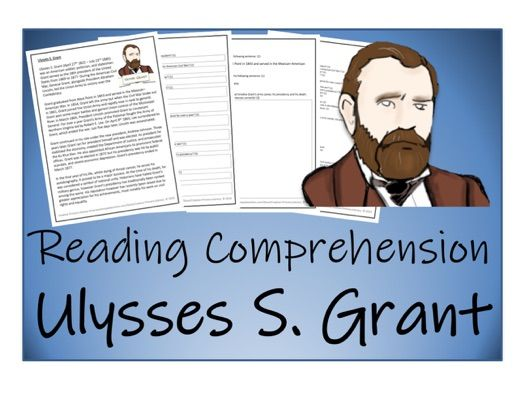 UKS2 History - Ulysses S. Grant Reading Comprehension Activity