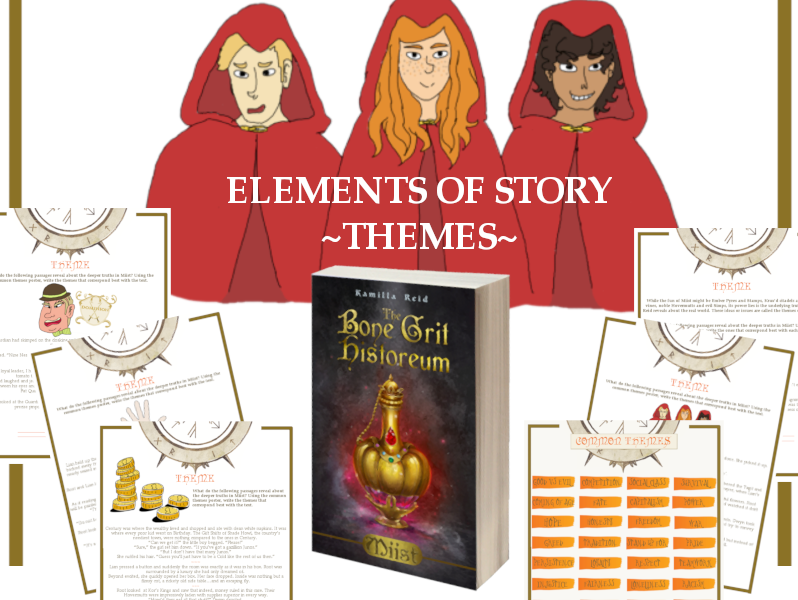 Elements of Story - Theme - for use with the middle grade novel, Miist