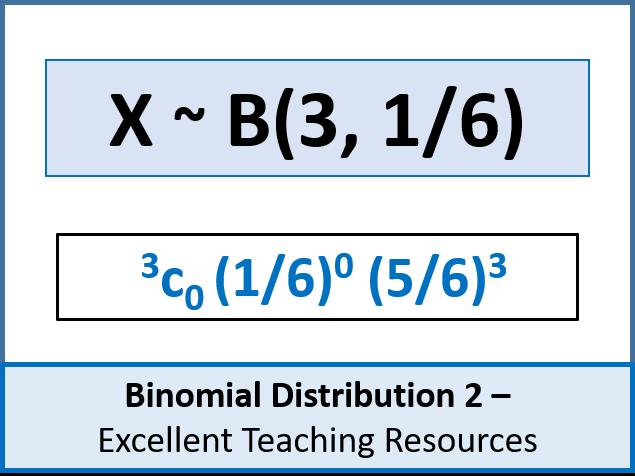 Statistics: Binomial Distribution 2 - Solving Problems / Calculating Probabilities (+ worksheet)