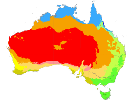 Australia Climatic Zones Lesson