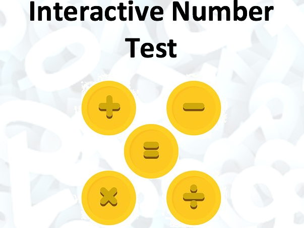 Interactive Number Test
