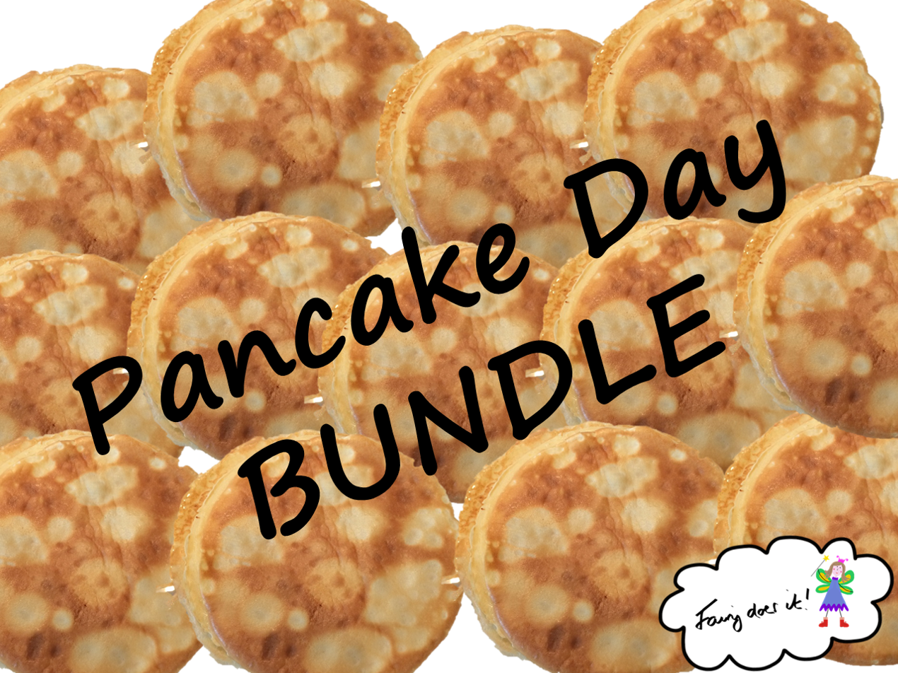 Pancake Day/Shrove Tuesday BUNDLE