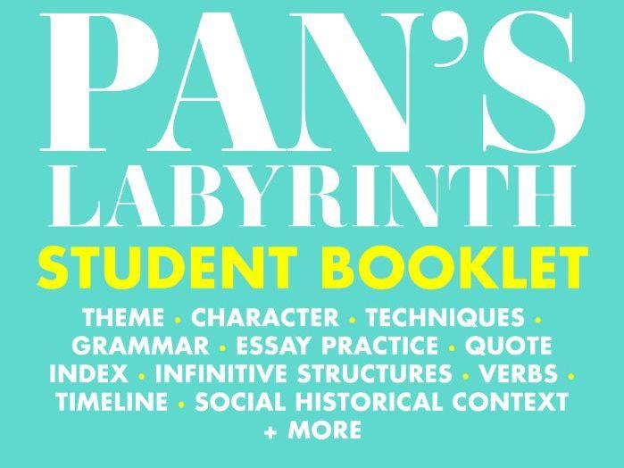 Pan's Labyrinth: Zero Prep Student booklet