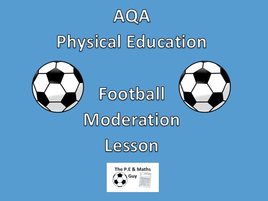 AQA Physical Education - Practical GCSE Football Moderation