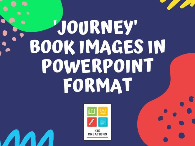 'Journey' Book Images in PowerPoint Format