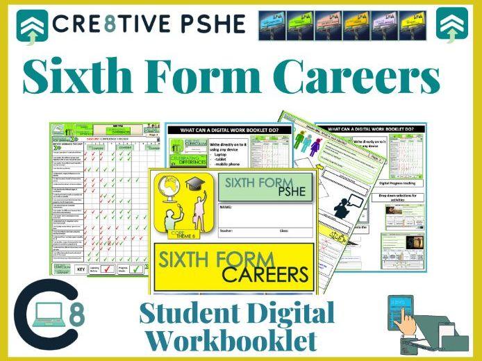 Sixth Form Career Digital booklet