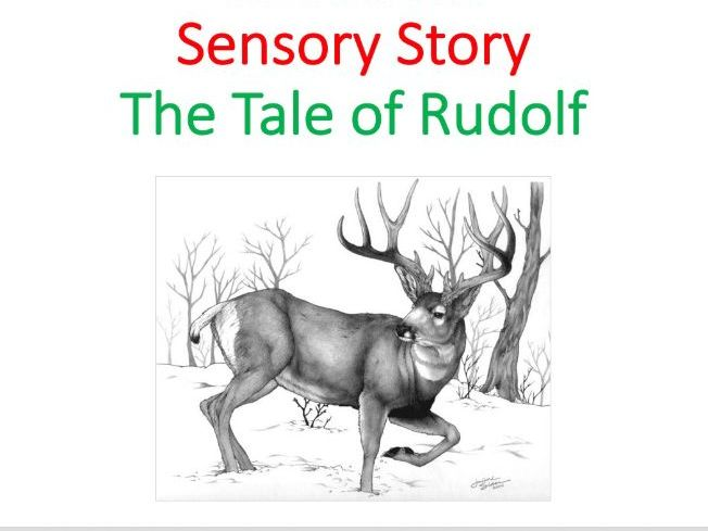 Christmas Sensory Story - Literacy, English SEN