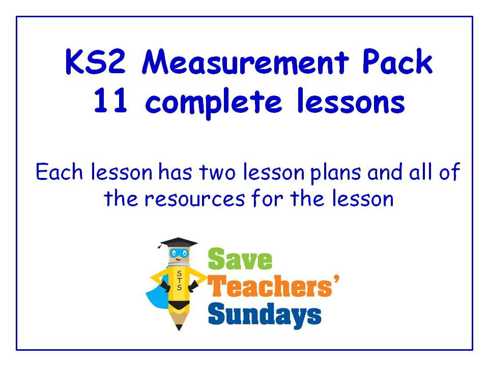 Ordering Measurement KS2 Worksheets, Lesson Plans, PowerPoint and ...