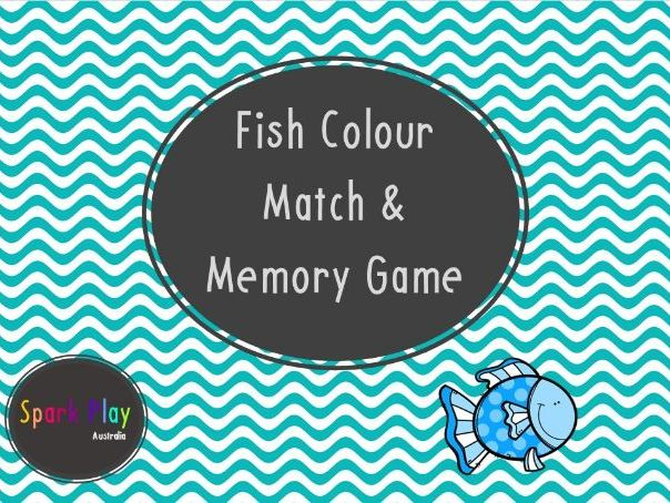Fish Colour Match and Memory Game