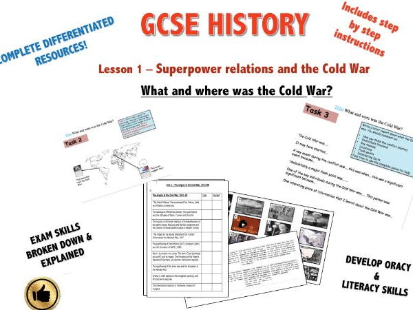 Edexcel Superpower Relations & Cold War L1 What and where was the Cold War?