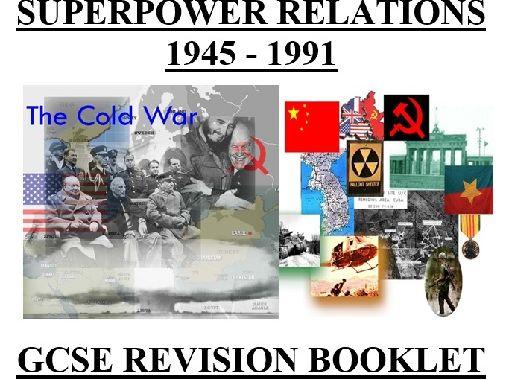 GCSE History Cold War 1945-1991