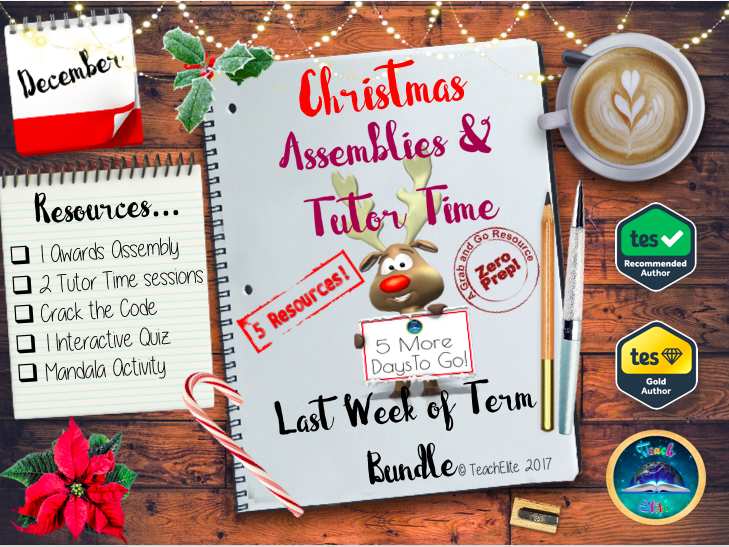 Christmas:Tutor Time & Assembly Bundle