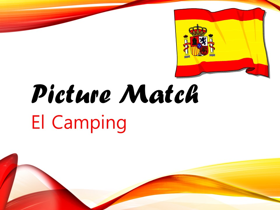 El Camping - Picture Match