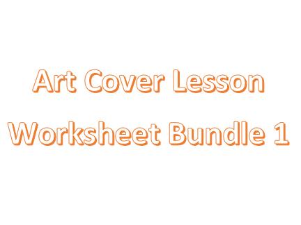 Art Cover Worksheets Bundle