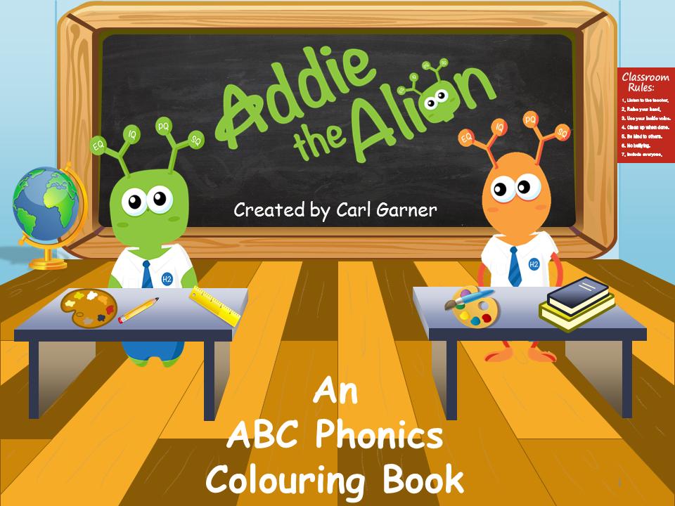 ABC Phonics - Colouring Book