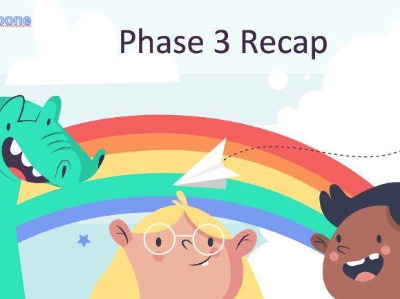 Phase 3 recap 4 lessons