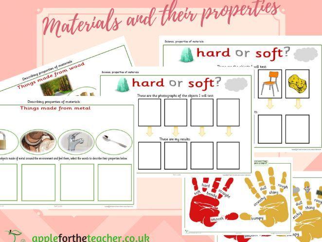 Materials and their properties SEN