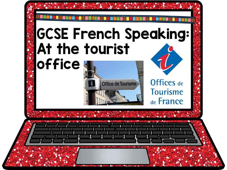 GCSE French Role Play: At the tourist office Presentation and Games