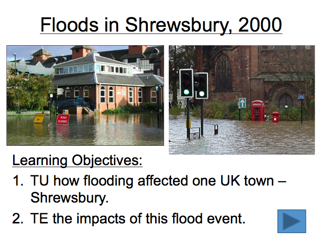 Lesson 7: Floods in Shrewsbury