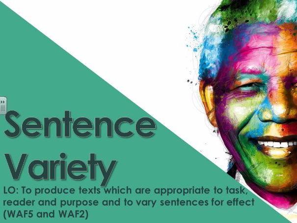 Autobiography - Sentence Structure