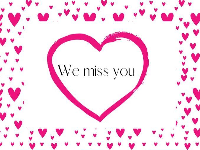We miss you! - Digital Certificates