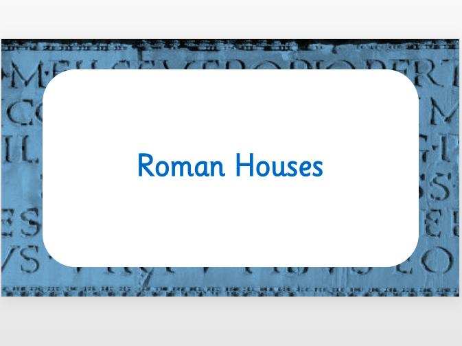 Roman Homes
