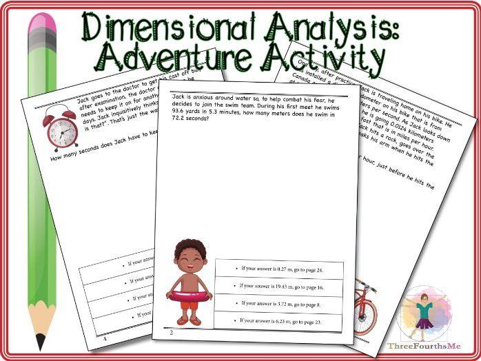 Dimensional Analysis: Activity