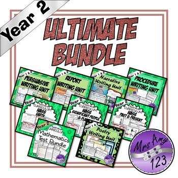 Year 2 Ultimate Bundle- Australian Curriculum Units & Mathematics Tests