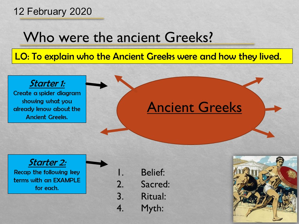 Ancient Greeks SOW